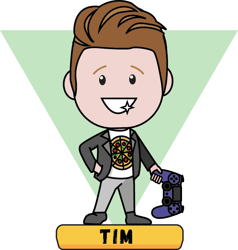 Tim caricature